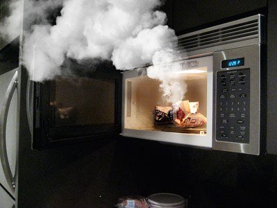 How To Get A Burnt Smell Out Of Your Microwave