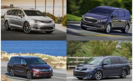 Best minivans under 20000
