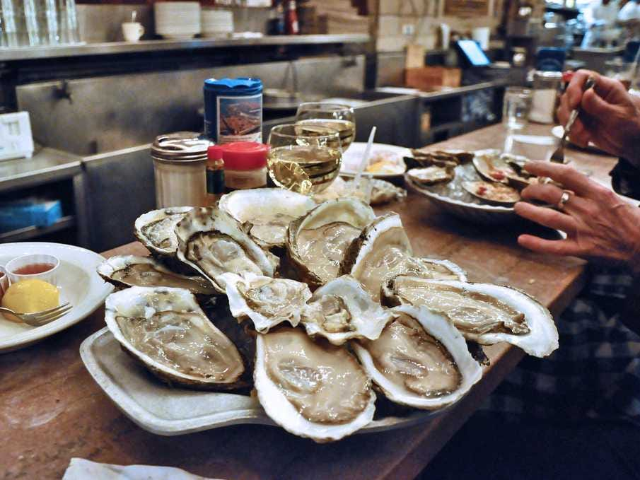 Oyster Bars in dc